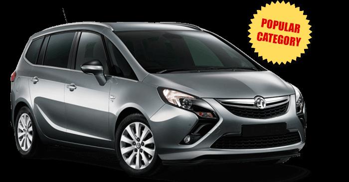 Opel Zafira 7-seats