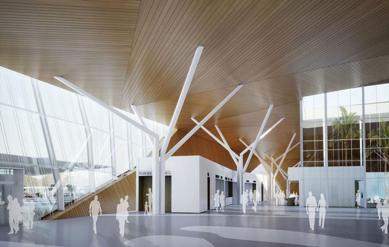 Терминал аэропорта Рамон
