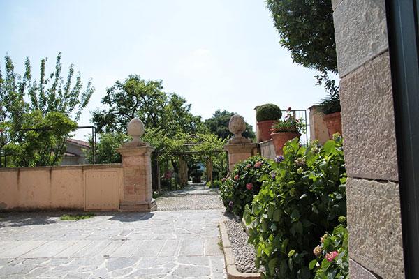 Сад в крепости Борромео