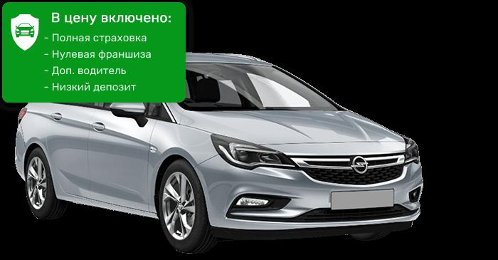 Opel Astra-Stw универсал