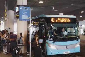 Airbus в аэропорту Барселоны